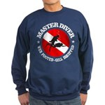 Master Diver (Round) Sweatshirt