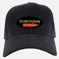 Rather Be Playing Guitar Baseball Cap