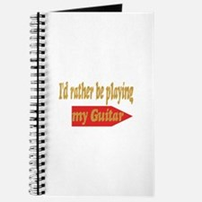 Rather Be Playing Guitar Journal