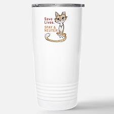 Cute Homeless Travel Mug