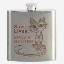 Cute Neuter Flask