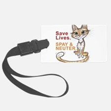 Cute Spay Luggage Tag