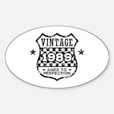 Vintage 1989 Decal