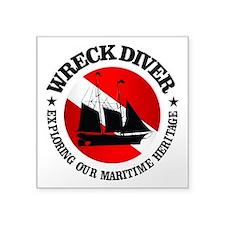 Wreck Diver (Ship) Sticker