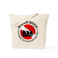 Wreck Diver (Ship) Tote Bag