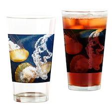 Jellyfish 3 Drinking Glass