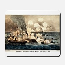 Great naval victory in Mobile Bay, Aug. 5th 1864 -