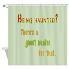 Being Haunted? Ghost Hunter App Shower Curtain