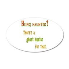 Being Haunted? Ghost Hunter App Wall Decal