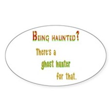 Being Haunted? Ghost Hunter App Decal