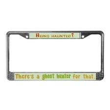 Being Haunted? Ghost Hunter App License Plate Fram