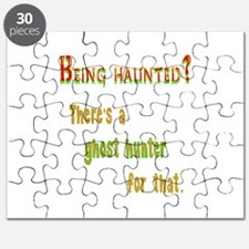 Being Haunted? Ghost Hunter App Puzzle