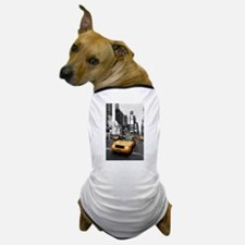 New York Times Square-Pro Photo Dog T-Shirt