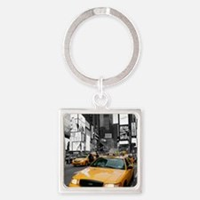 New York Times Square-Pro Photo Square Keychain