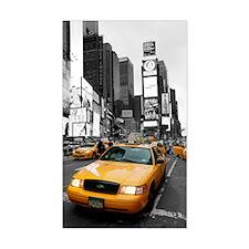 New York Yellow Cab Decal