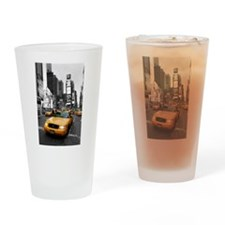 New York Times Square-Pro Photo Drinking Glass