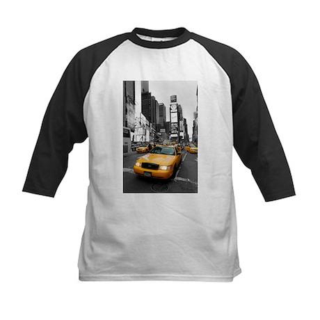 New York Times Square-Pro Pho Kids Baseball Jersey