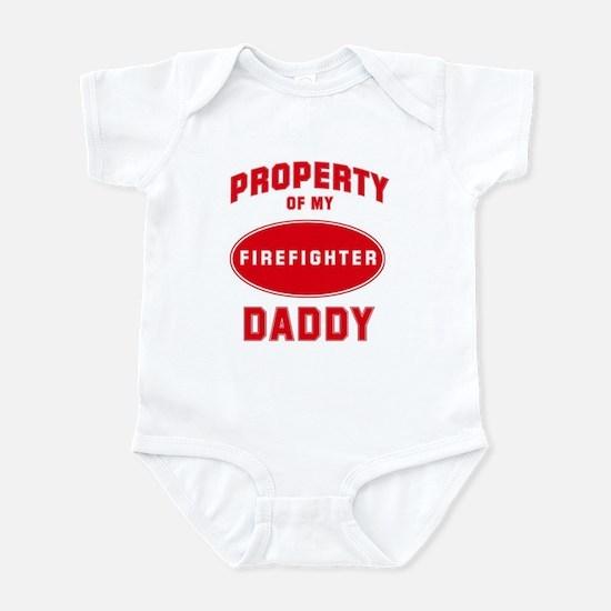 DADDY Firefighter-Property Infant Bodysuit