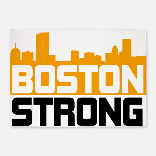 Boston Strong 5'x7'Area Rug