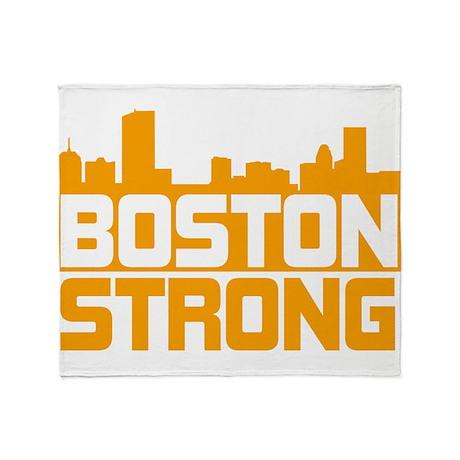 Boston Strong Throw Blanket
