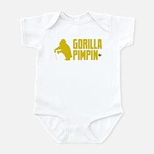 Gorilla Pimpin' Infant Bodysuit