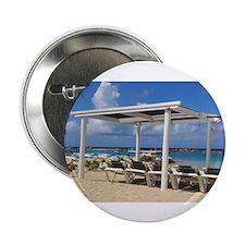 """Curacao beach 2.25"""" Button"""