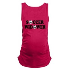 FIN-soccer widower.png Maternity Tank Top