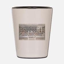 James 1:17 Shot Glass