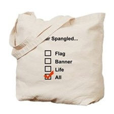 Star Spangled.. Tote Bag