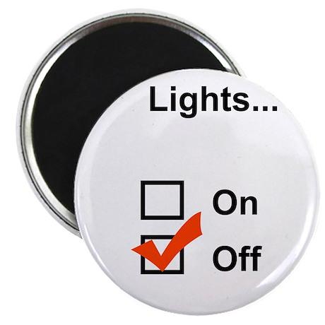 Lights... Magnet