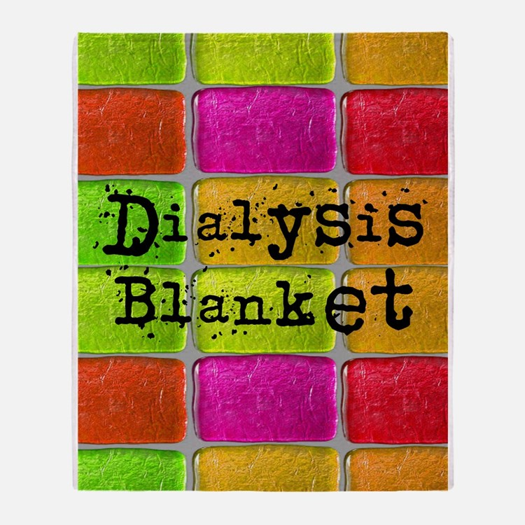 Dialysis pt blanket 2 Throw Blanket