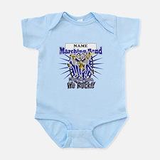Marching Band Rocks(Blue) Infant Bodysuit