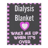 Dialysis patients Fleece Blankets