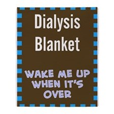Dialysis Blanket 1 Throw Blanket