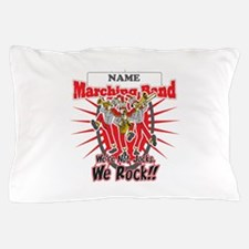Marching Bands Rock(Red) Pillow Case