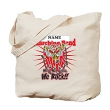 Marching Bands Rock(Red) Tote Bag