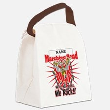 Marching Bands Rock(Red) Canvas Lunch Bag