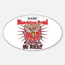 Marching Bands Rock(Red) Decal