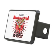 Marching Bands Rock(Red) Hitch Cover