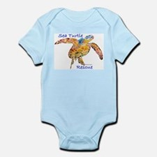 Sea Turtle Rescue Infant Bodysuit