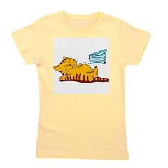cartoon-fat-cat.png Girl's Tee