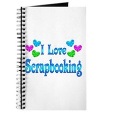 I Love Scrapbooking Journal
