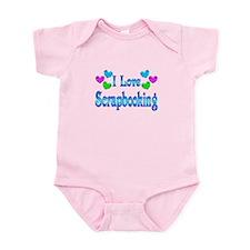 I Love Scrapbooking Infant Bodysuit