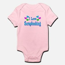 I Love Scrapbooking Infant Bodysuit