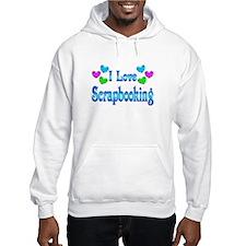 I Love Scrapbooking Jumper Hoodie