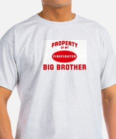 BIG BROTHER Firefighter-Prope Ash Grey T-Shirt