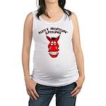 FIN-horsin-around.png Maternity Tank Top