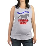 rwp-friesian-horse.tif Maternity Tank Top