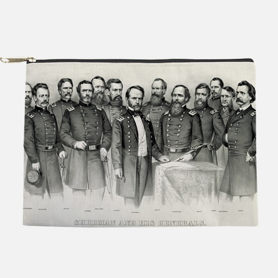 Sherman and his generals - 1865 Makeup Pouch