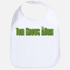 Tom Knows Aliens Bib